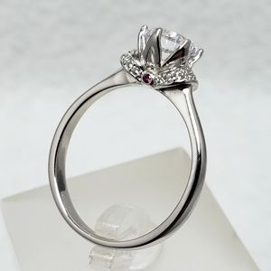 Sterling 1ct Crown Setting Ring